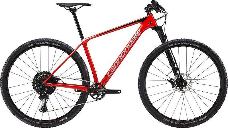 Bicicleta Aro 29 Cannondale F-Si Carbon 3 Vermelho/Preto