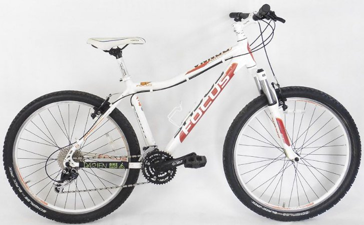 Bicicleta Aro 26 Usada Focus Donna 24V M Branca/Laranja
