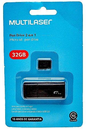 Cartao de Memoria Classe 10 32GB MC145