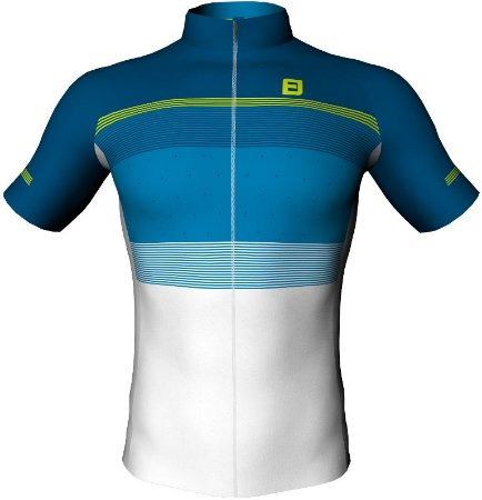 Camisa Furbo Unissex Lined Azul/Branco