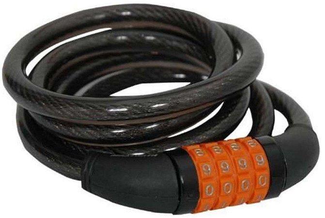 Cadeado Espiral Segredo 12x1500mm