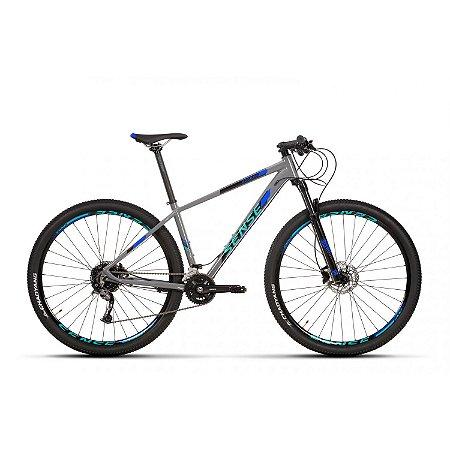 Bicicleta Aro 29 Sense Rock Evo (2020) Cinza/Azul/Preto