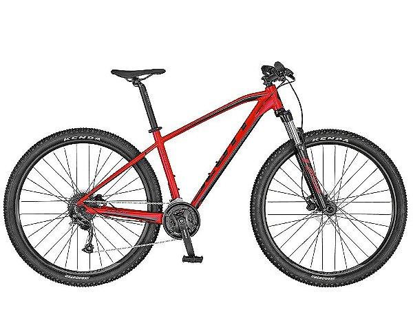 Bicicleta Aro 29 Scott Aspect 950 (2020) Vermelho/Preto