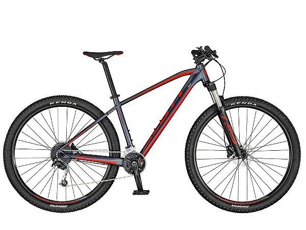 Bicicleta Aro 29 Scott Aspect 940 (2020) Grafite/Vermelho