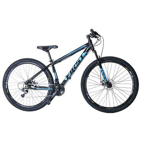 Bicicleta Aro 29 First Smitt 21V Azul Brilho