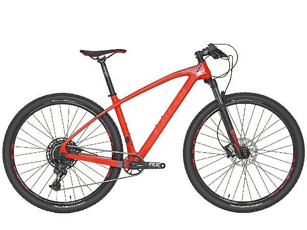Bicicleta Aro 29 Caloi Carbon Sport NX (2020) Vermelho 004134.19004