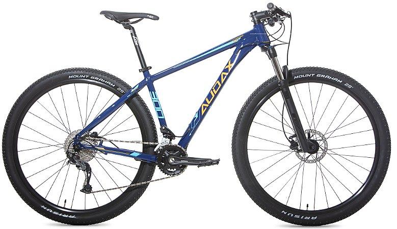 Bicicleta Aro 29 Audax ADX 300 (2020) Azul/Amarelo