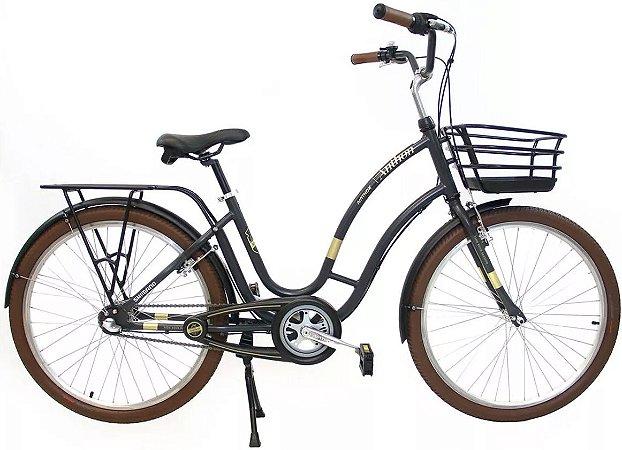 Bicicleta Aro 26 Nathor Anthon 3V Nexus Cinza
