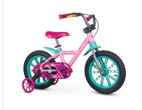 Bicicleta Aro 14 Nathor First Pro Feminina