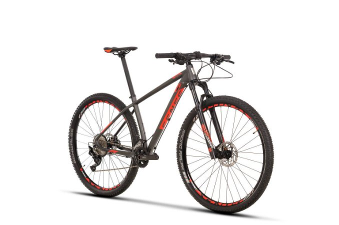 Bicicleta Aro 29 Sense Impact Pro (2020) Cinza/Vermelho