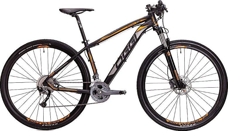 Mountain Bike Aro 29 Oggi Big Wheel 7.2 Grafite/Laranja