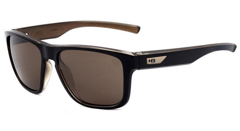 Oculos HB H-Bomb Black Gold Brown
