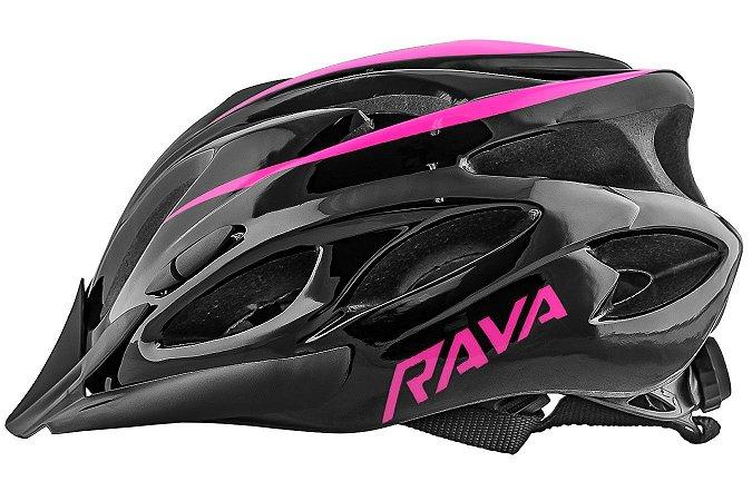 Capacete TSW Rava Space New (G) Preto/Pink