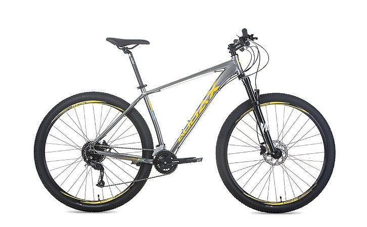 Bicicleta Aro 29 Audax Havok NX (2020) Cinza/Amarelo