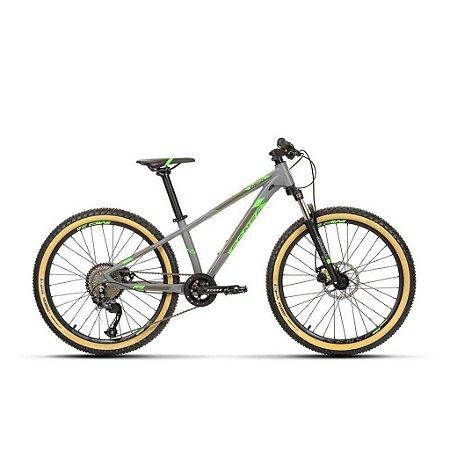 Bicicleta Aro 24 Sense Impact 2020 Cinza/Verde