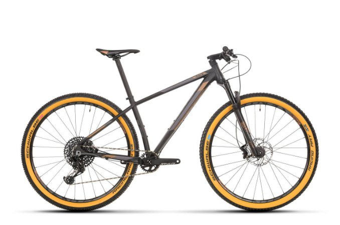 Bicicleta Aro 29 Sense Impact Race (2020) Preto/Dourado/Cinza