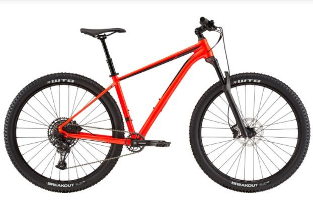 Bicicleta Aro 29 Cannondale Trail 2 Vermelho