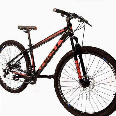 Bicicleta Aro 29 First Smitt 21V Vermelho Brilho