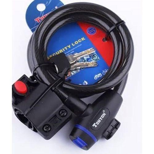 Cadeado Espiral CHAVE 12X1200 Ilume 588 H1704