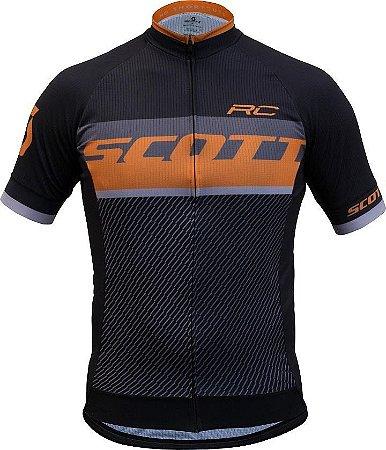 Camisa Scott MC RC Pro (2018) Preto/Laranja