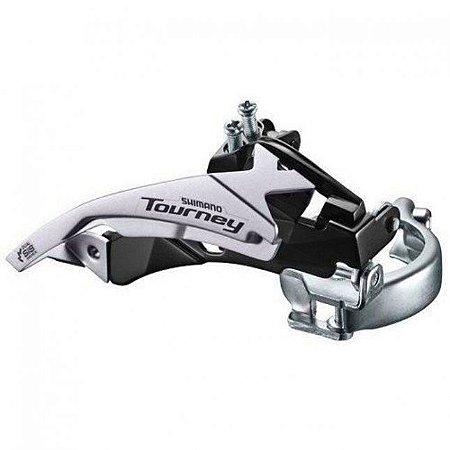 Cambio Dianteiro 3x7/8V Shimano Tourney FD-TY500