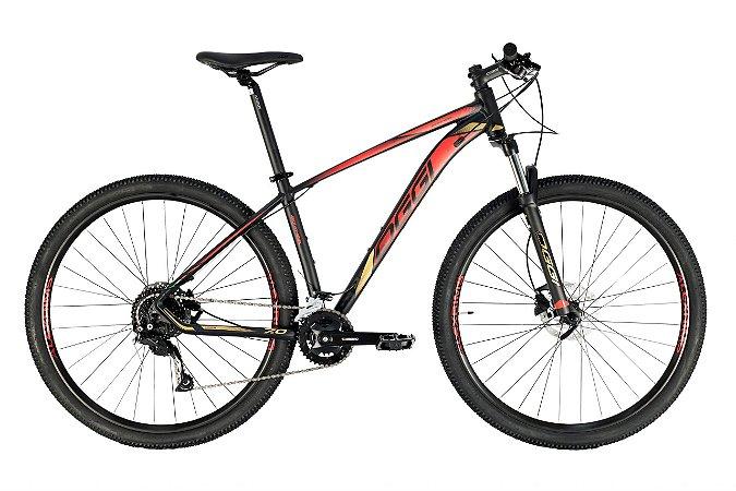 Oggi Big Wheel 7.0 Preto, Dourado e Vermelho