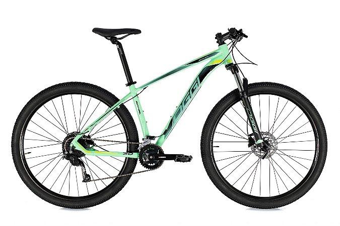Bicicleta Aro 29 Oggi Big Wheel 7.0 (2021) Verde Aqua/Preto