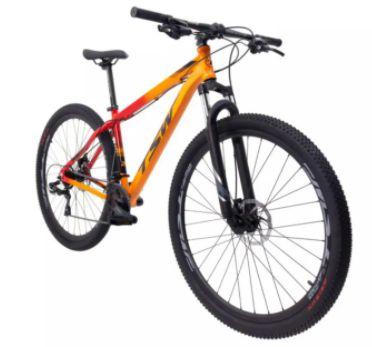 Bicicleta Aro 29 TSW Rava Ride Laranja 21V Mecanico