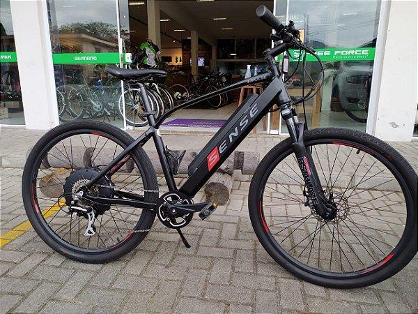 Bicicleta Aro 26 Usada Eletrica Sense Impulse Preto/Vermelho Cli: 2398