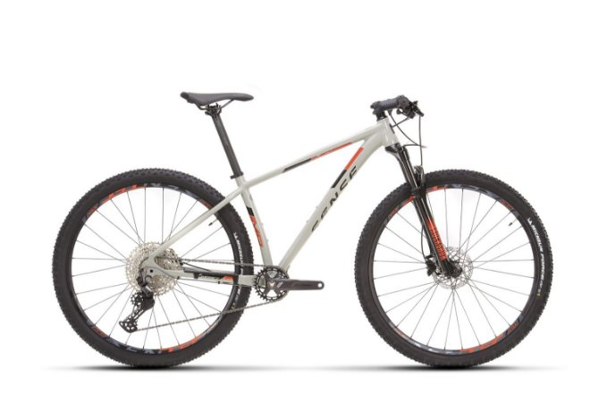 Bicicleta Aro 29 Sense Impact Evo (2021) Cinza/Laranja