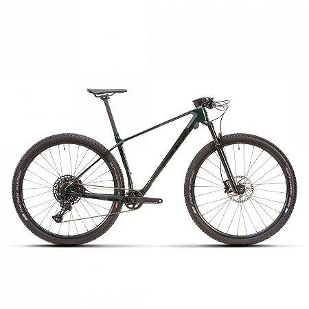 Bicicleta Aro 29 Sense Impact Carbon Comp (2021) Verde/Cinza