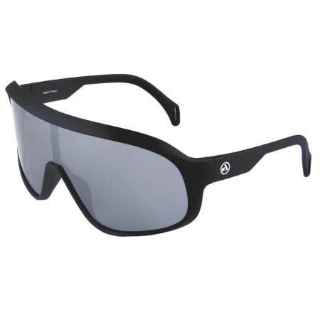 Oculos ABS Nero Preto Fosco Lente Prata Polarizado 44382