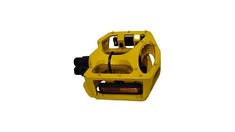 Pedal Freestyle Aluminio Amarelo 9/16 C/Esf 52107000
