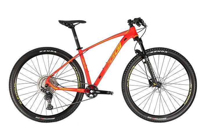 Bicicleta Aro 29 Oggi Big Wheel 7.3 (2021) 12V Vermelho/Amarelo