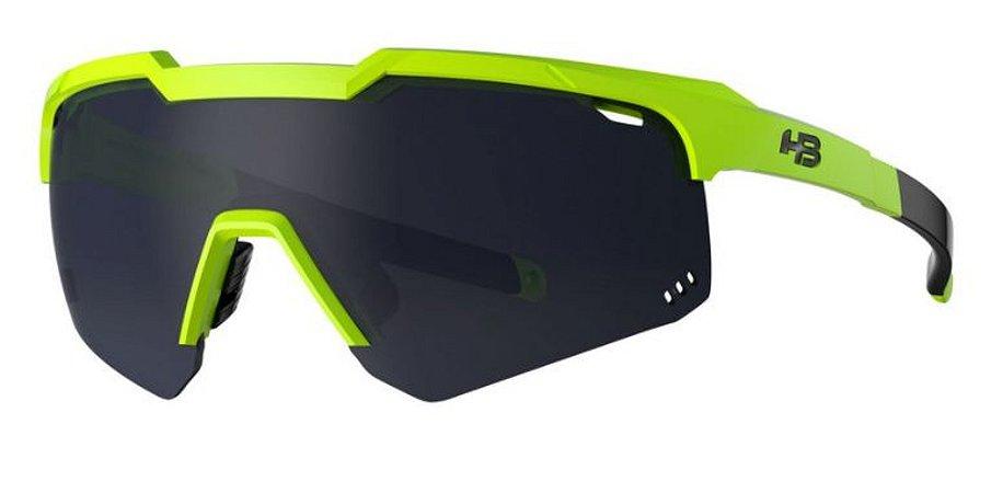 Oculos HB Shield Compact M Neon Yellow Gray