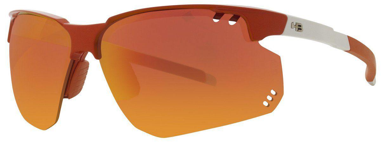 Oculos HB Moab Orange White Red Chrome