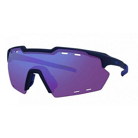 Oculos HB Shield Compac M M Black D Blue Multi Purple 10103430003022