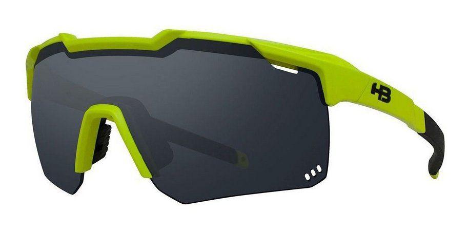 Oculos HB Shield Evo R Neon Yellow Gray