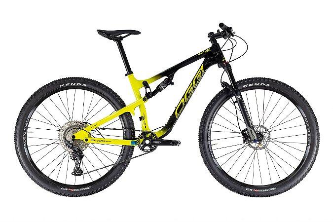 Bicicleta Oggi Cattura Sport Full Preto/Amarelo