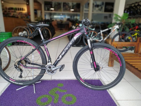 Bicicleta Aro 29 Usada Oggi 7.2 T17 27V Preto/Rosa