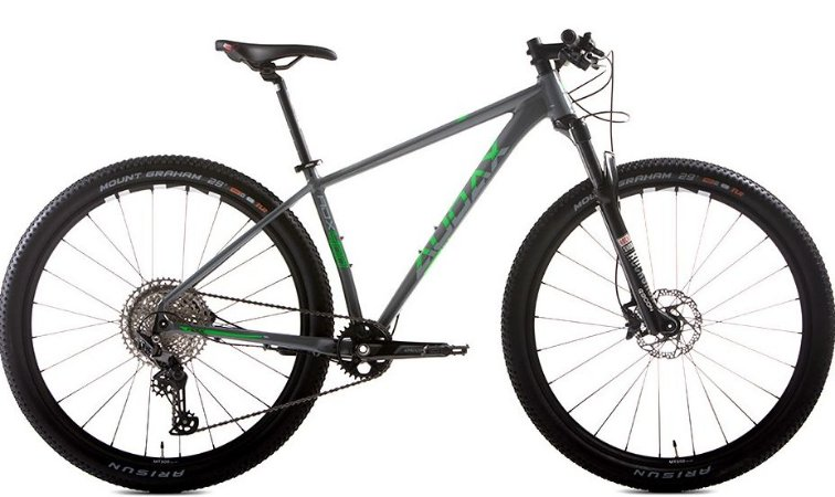 Bicicleta Audax ADX 400 Cinza e Verde