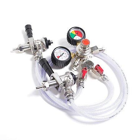 Kit Extração CO2 02 Vias Manual