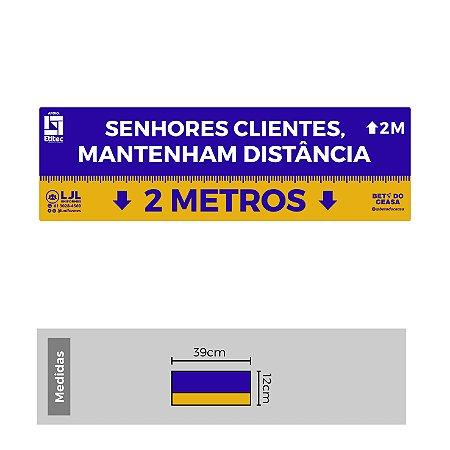 Kit de Etiquetas para Organizar Filas - 2 Metros - Etitec