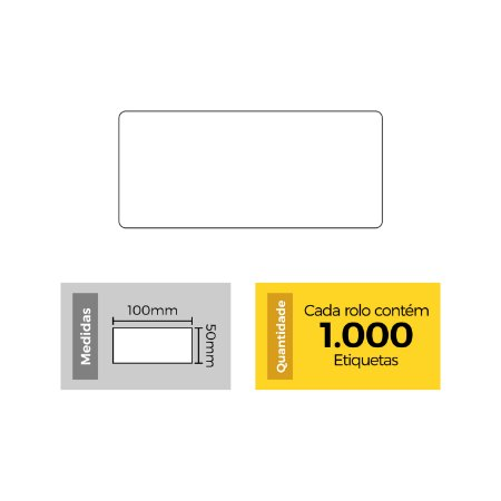Etiqueta 50x100 - Etitec