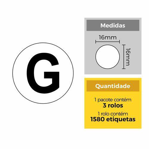 Etiqueta G - Etitec