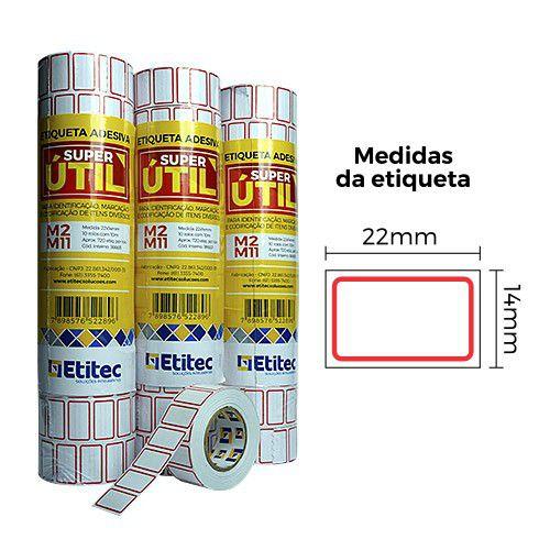 Etiqueta Super Útil M2/M11 - Etitec