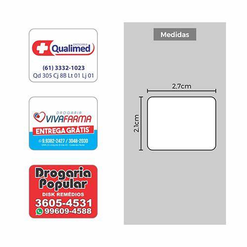 Etiquetas Personalizadas para Farmácias/Drogarias - Etitec