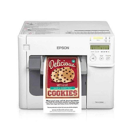 Impressora de Rótulos Colorworks C3500 - Epson