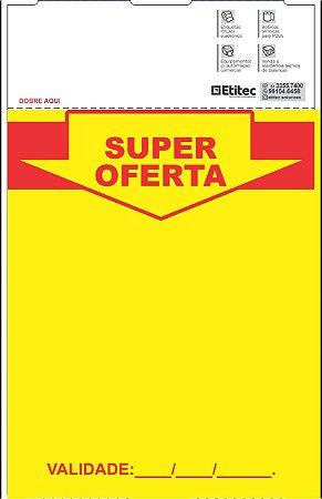 Etiqueta de Gôndola 100x132 - Super Oferta