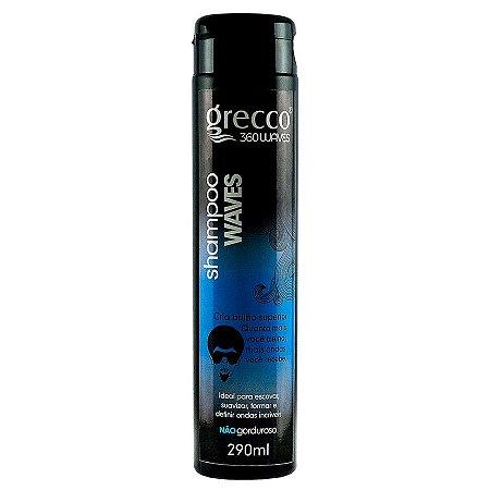 Shampoo Waves Grecco 360waves 290ml